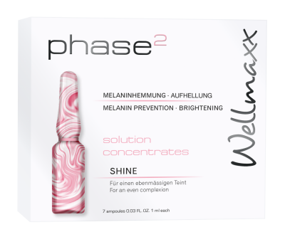 Wellmaxx Phase 2 - SHINE solution concentrates v ampulkách 7 x 1ml